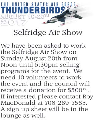 Selfridge Air Show